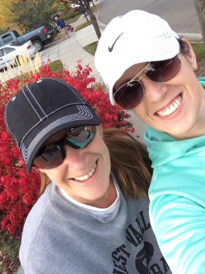 Patti and Tawsha - Walk in boise - organized chaos online