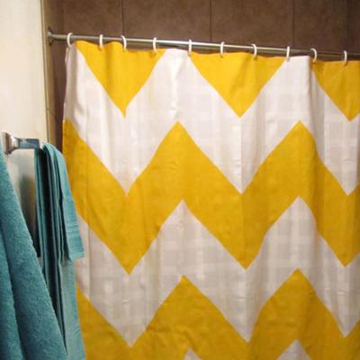 diy shower curtain chevron print diy ideas64 shower